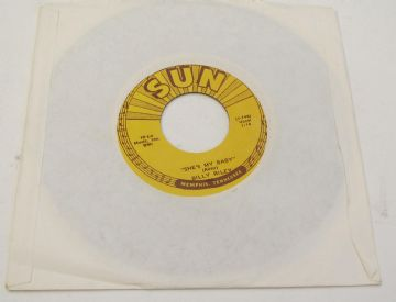 "Billy Riley SHE'S MY BABY / THAT'S RIGHT SUN RECORDS  800 U.S 7"" NEAR MINT AUDIO"